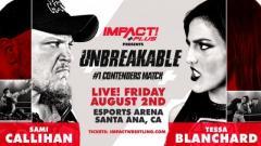 Tessa Blanchard vs. Sami Callihan 2 Announced For IMPACT Unbreakable
