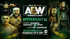 Sammy Guevara, Santana & Ortiz vs. Jurassic Express Set For 2/26 AEW Dynamite