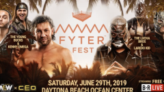 Laredo Kid Teams With Lucha Bros Against The Elite At AEW Fyter Fest, Updated Card