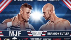 MJF Faces Brandon Cutler At 10/2 AEW On TNT