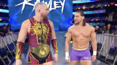 Riddick Moss Is The New 'Offensive Lineman' For Mojo Rawley On WWE Raw