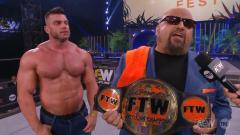 Brian Cage Awarded FTW Championship By Taz On AEW Fyter Fest