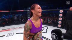 Cris Cyborg Captures Featherweight Championship At Bellator 238 | HIGHLIGHTS
