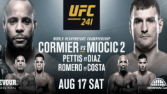 UFC 241 Results, Live Coverage & Discussion: #2 Yoel Romero vs. #7 Paulo Costa