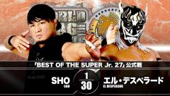 NJPW Best Of The Super Juniors Night Nine Results (11/25): SHO Faces El Desperado In Main Event