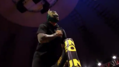 Sin Cara Makes Surprise Appearance At AAA Guerra De Titanes