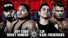 NJPW Lion's Break Collision Results (7/3): Jeff Cobb Teams With Rocky Romero