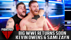 Kevin Owens And Sami Zayn Returning To WWE Soon