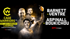 Live Coverage & Discussion For Cage Warriors 101 Today At 4pm EST.