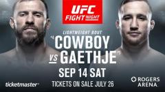 UFC Fight Night Vancouver Results: Donald Cerrone vs. Justin Gaethje Headlines, Plus 3 Ranked Light Heavyweights Compete