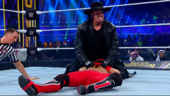 The Undertaker Arrives At WWE Super ShowDown, Pins AJ Styles To Win Tuwaiq Trophy Gauntlet Match