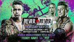MJF Challenging Teddy Hart For World Middleweight Championship At MLW's 'Never Say Never' Show