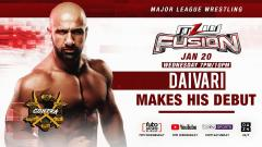 Daivari To Make MLW In-Ring Debut On 1/20 Episode Of Fusion