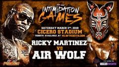 Ricky Martinez vs. Air Wolf Made Official For MLW's 'Intimidation Games'