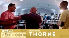 Watch: UFC 253 Embedded: Vlog Series - Episode 5