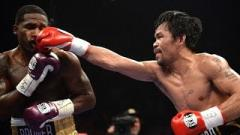 Report: Manny Pacquiao Suffered Eye Injury During Adrien Broner Fight