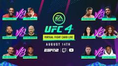Watch: EA SPORTS UFC Virtual Fight Card LIVE At 7:30pm EST.