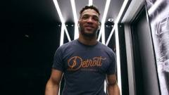 Kevin Lee prior to UFC Fight Night Rochester.