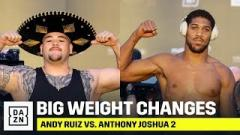 Andy Ruiz Jr. vs. Anthony Joshua 2 Weigh-in Results