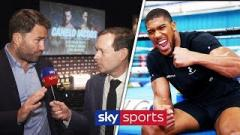 Eddie Hearn: Anthony Joshua vs. Deontay Wilder 'Must Happen Next - No Excuses'