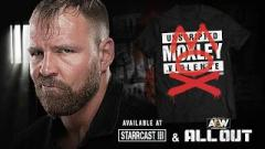 Jon Moxley improves his new AEW shirt