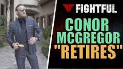 Conor McGregor Retires From MMA Again