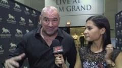 Dana White after UFC 189.