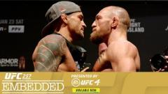 Video: UFC 257 Embedded | Episode 6: McGregor vs. Poirier Staredown