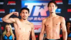 Top Rank On ESPN+: Lopez vs. Nakatani Weigh-In Results