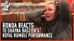 Ronda Rousey Reacts To Shayna Baszler's Royal Rumble Run, IMPACT On Twitch 2/21 | Fight-Size Update