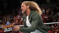 Edge Says He Wasn't Cleared To Spear Elias At SummerSlam 2019, Beth Phoenix Didn't Know About Spot