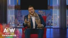 MJF Recreates Samoa Joe Shove From WWE Appearance On AEW Dynamite