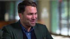 Eddie Hearn: 'The Heavyweight Division Is Bigger Than Ever'