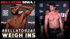 Watch: Weigh Ins | Bellator 247: Daley vs. Anderson At 5am EST.