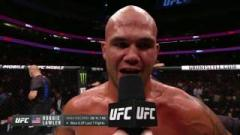 Robbie Lawler after defeating Donald Cerrone at UFC 214.