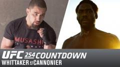Watch: UFC 254 Countdown: Whittaker vs Cannonier