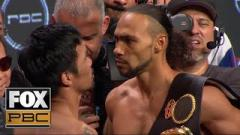 Manny Pacquiao vs. Keith Thurman Weigh-In Results