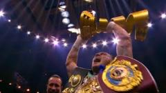 Oleksandr Usyk To Face Carlos Takam In Heavyweight Debut On May 25