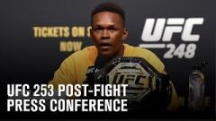 Watch: UFC 253 Post-Fight Press Conference Live Stream