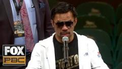 Pacquiao vs. Thurman Fight-size Update: Post-fight Presser, Official Attendance, Scorecards, Floyd Mayweather Jr.