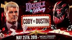 Dustin Rhodes: Cody And I Were Told Our Match Wasn't Good Enough For WrestleMania