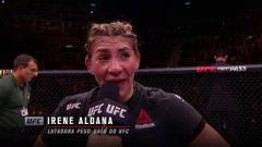 Irene Aldana Disappointed With UFC Fight Night Mexico City Crowd