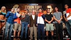 Tyson Fury vs. Otto Wallin Weigh-In Results