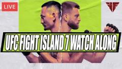UFC Fight Island 7 Watch Along Live Stream | Max Holloway vs. Calvin Kattar