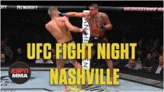 Anthony Pettis KOs Stephen Thompson with Superman punch | UFC Fight Night Highlights