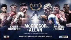 MTK Global 6/21/2019 Results: Lee McGregor, Kieran Smith Win Title Bouts