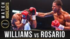 Jeison Rosario Stops Julian Williams To Win Unified 154-Pound Titles; Full PBC On FOX (1/18) Results