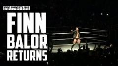 Finn Balor Makes His Return To In-Ring Competition At A WWE Live Event In Bakersfield, California