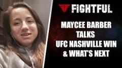 Maycee Barber Claims Paige VanZant Won't Fight Her