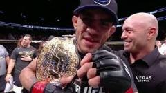 Tony Ferguson after defeating Kevin Lee.